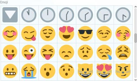 emoji表情符号,在外国的手机短信里面已经是很流行使用的一种表情.图片