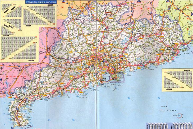 广东高速公路是中国华南地区最重要的交通网络系统。至2015年底全省高速公路通车总里程达6880公里,居全国第一,全省67个县(市)实现县县通高速的目标。以九纵五横两环为主骨架,以加密线和联络线为补充,形成以珠江三角洲为核心,以沿海为扇面,以沿海港口(城市)为龙头向山区和内陆省区辐射的路网。