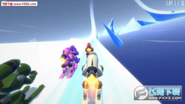火箭滑雪赛(Rocket Ski Racing)截图0
