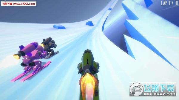 火箭滑雪赛(Rocket Ski Racing)截图1