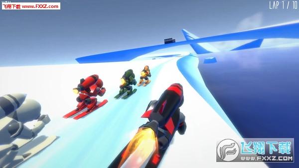 火箭滑雪赛(Rocket Ski Racing)截图2