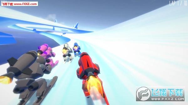 火箭滑雪赛(Rocket Ski Racing)截图3
