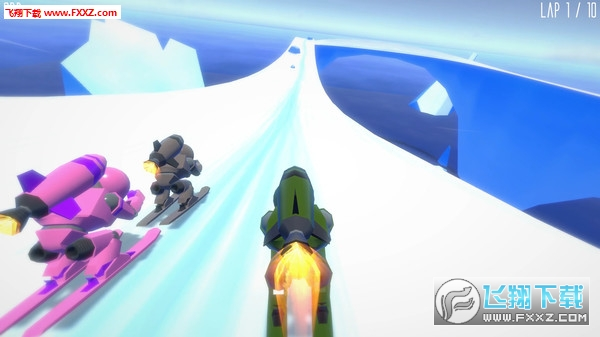 火箭滑雪赛(Rocket Ski Racing)截图4