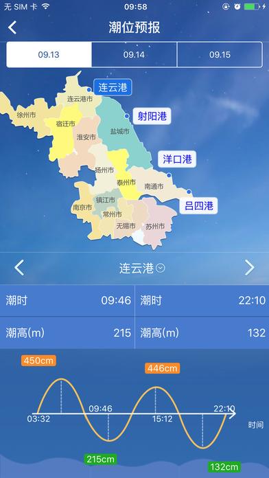 江苏海洋预报app苹果版