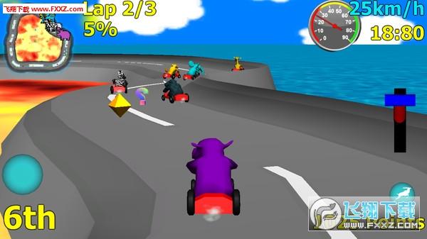 野生动物赛车游戏下载