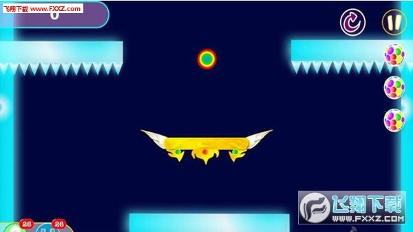 飞行板 Fly Boardd 是一款玩法简单但过关不易的灵动游戏。一只小球在屏幕里匀速运动,玩家要划动手指设置反弹面来改变小球的运动方向,既要碰到目标,又要躲避障碍物。要想过关,智力、反应、运气一个都不能少,既能让你集中注意力全身心的玩,又不会像那些很快很暴力的游戏那样令人玩的精疲力尽头昏脑胀。非常适合工作之余放松时玩。