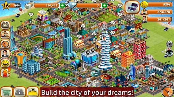 模拟岛屿城市建设无限钻石版下载|模拟岛屿城市建设