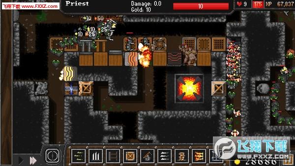 地牢战争(Dungeon Warfare)截图1