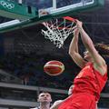 2016奥运会男篮中国对塞尔维亚全场高清录像