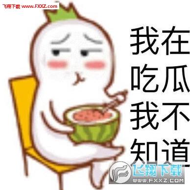 吃瓜群众表情包图片