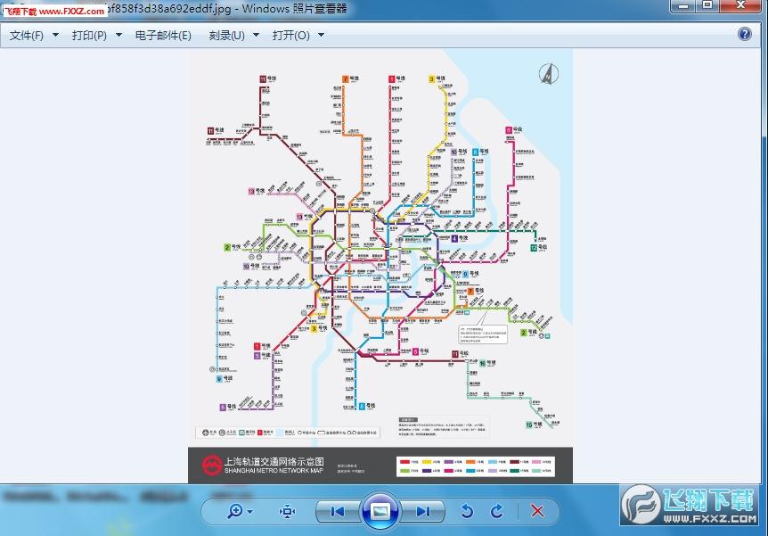 2016上海地铁线路图高清版