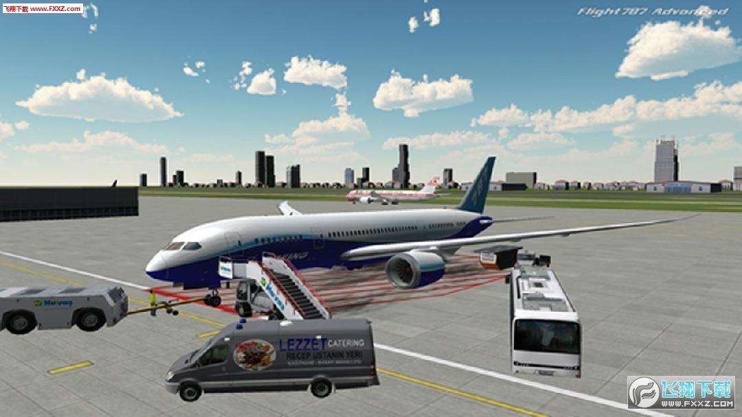 非常拟真的飞机驾驶、模拟飞行游戏,各种视角可以切换,八种不同天气系统,精美的建筑物、机场、星空等各种环境,真实的飞机的驾驶舱,各种按钮,各种仪器设备,这些按钮和设备都是能用的。。。。配合地图、飞行距离、燃油和速度转换等。。。。别问小编我为什么只有这几张黑乎乎的截图。。。小编真的不会开飞机!!!!!好不容易找到点火电源,好不容易找到两个引擎的开关。。。。第一关都过不去啊!!!