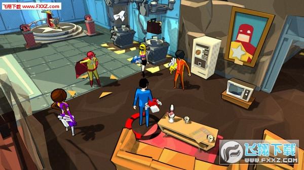Deadbeat Heroes截图2