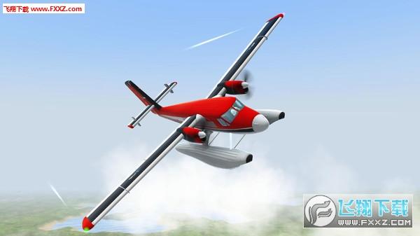 起飞:飞行模拟截图0