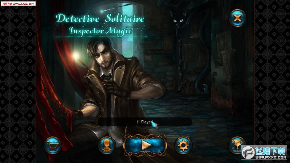 纸牌侦探:督察魔法截图0