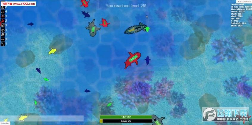 鲨鱼模拟器(shark.io)截图2
