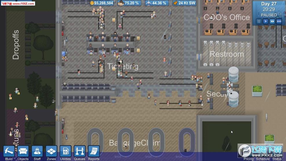模拟机场(SimAirport)截图1
