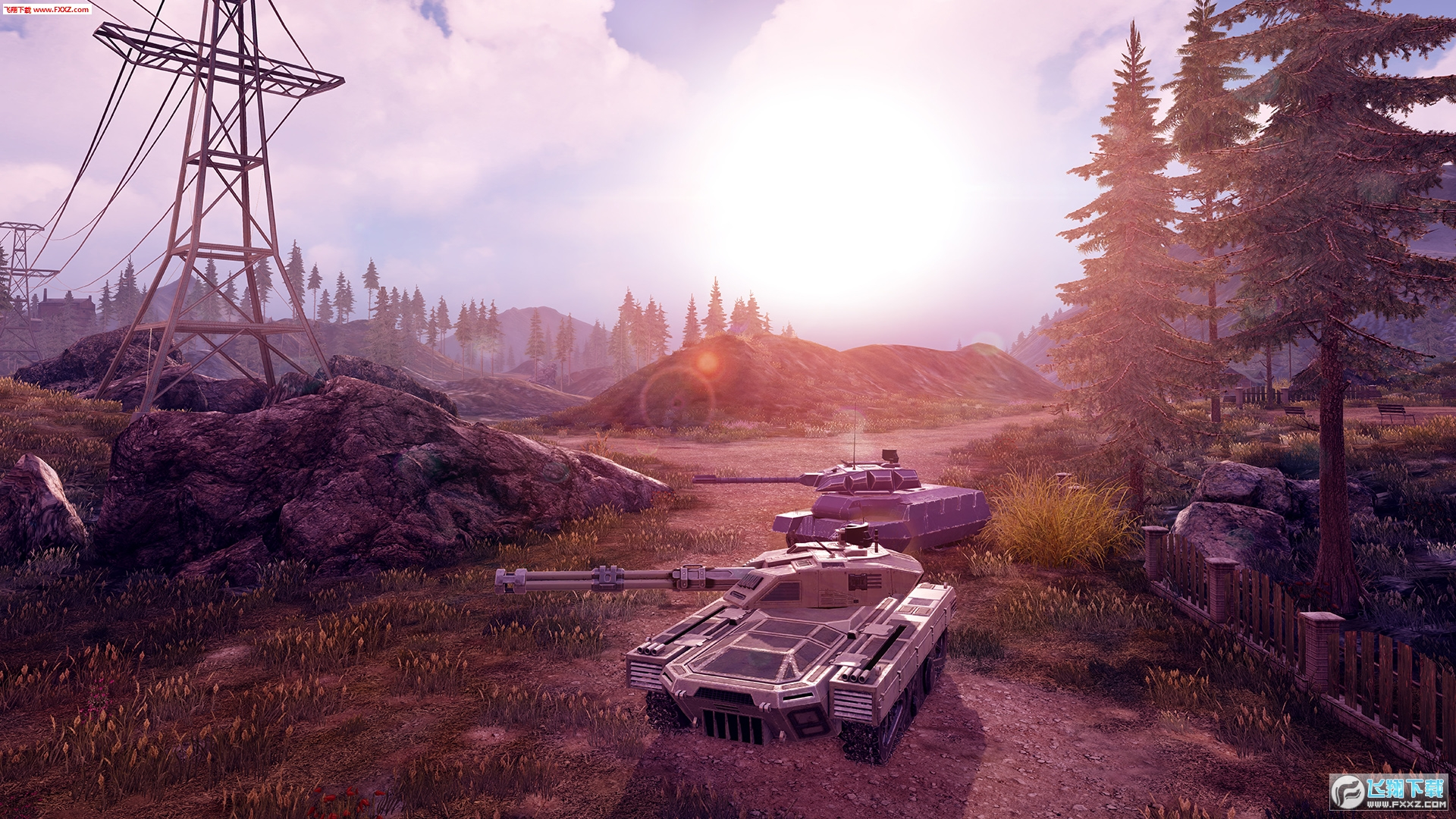 无限坦克Infinite Tanks截图2