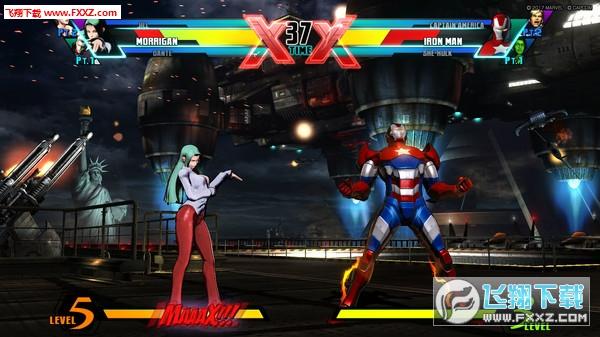 终极漫画英雄vs卡普空3截图3