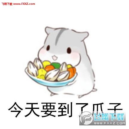 小仓鼠要饭表情包