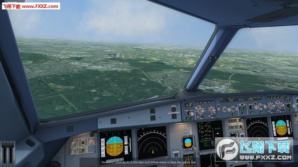 A320客机模拟截图0