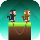 双猴绳Monkey Ropes破解版 1.0