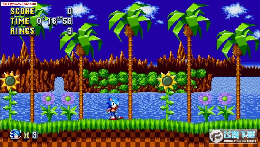 索尼克:狂欢(Sonic Mania)截图1