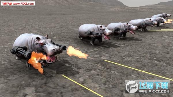 动物打架模拟器截图0