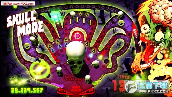 僵尸弹球(Zombie Pinball)截图2