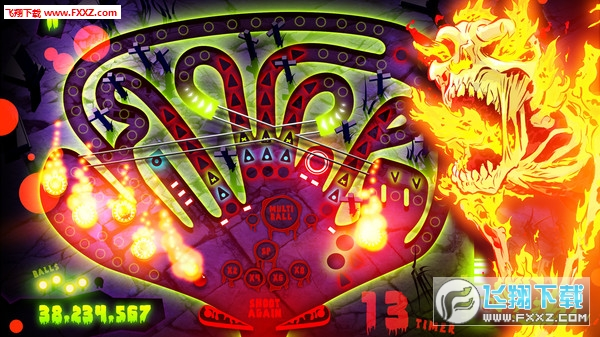 僵尸弹球(Zombie Pinball)截图5