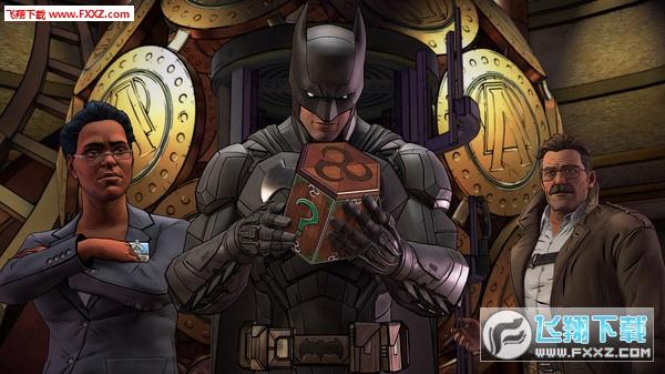 蝙蝠侠:内敌截图2