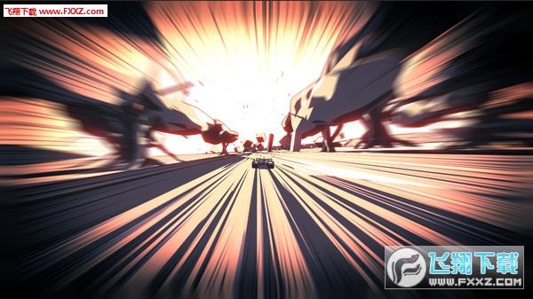 超驱动:疯狂重力竞速截图1