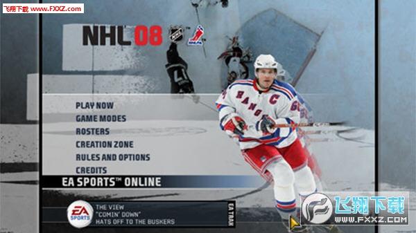 EA冰球2008 (NHL 08) 英文免安装版截图2