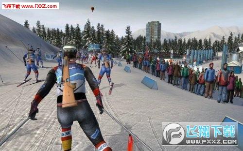 滑雪射击2008 (RTL Biathlon 2008)CLONE版截图0