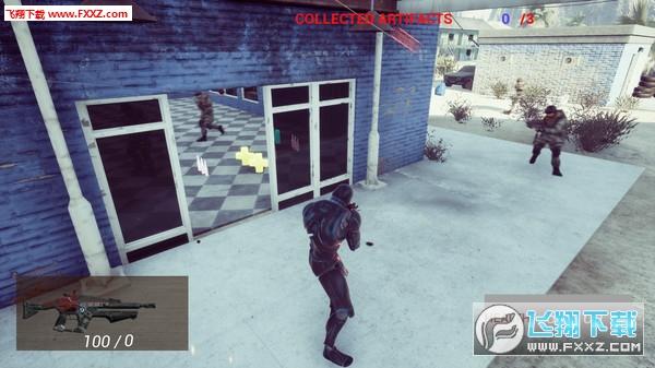 机器人入侵射手2:地球之战截图0