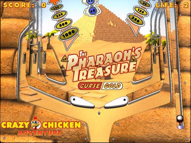 疯狂的鸡:弹珠台截图2