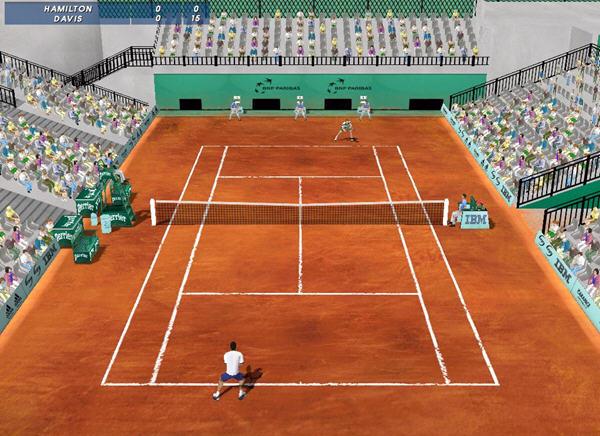 法国网球公开赛2001截图0