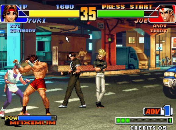 KFO拳皇99+模拟器截图1