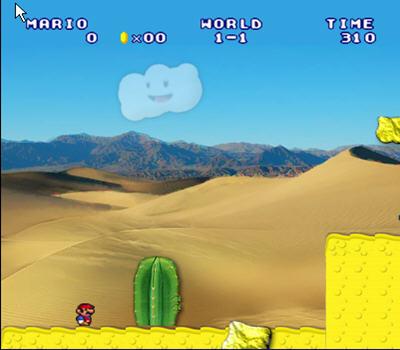 超级玛丽之沙漠冒险截图1