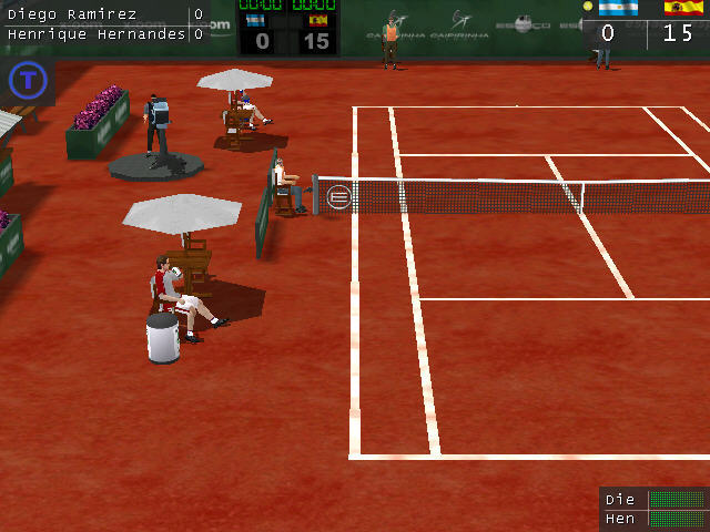 网球对战截图2