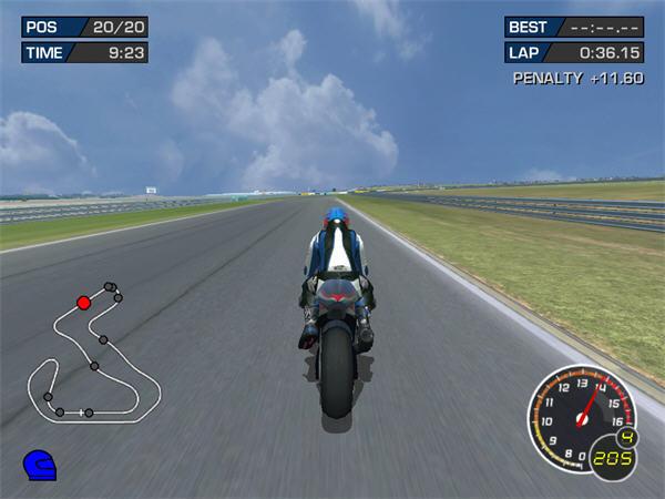 极品摩托:终极赛车技3截图2