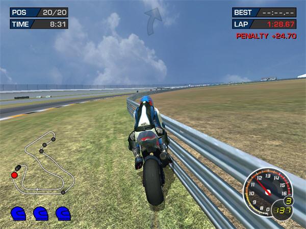 极品摩托:终极赛车技3截图1