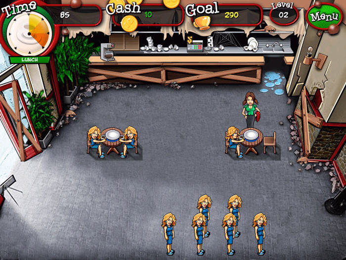 美女餐厅之混乱咖啡馆截图2