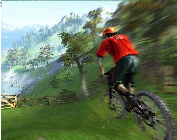 疯狂山地自行车截图2
