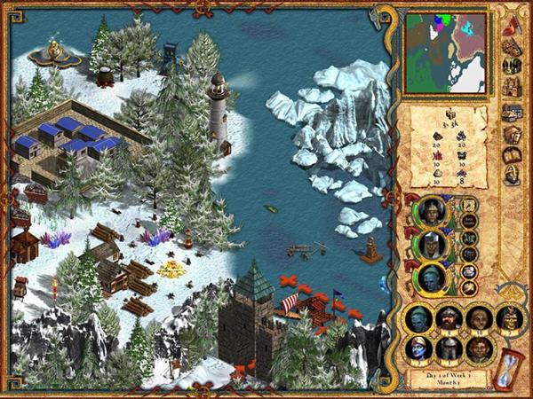 魔法门:英雄无敌4截图1