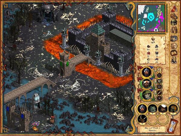 魔法门:英雄无敌4截图3