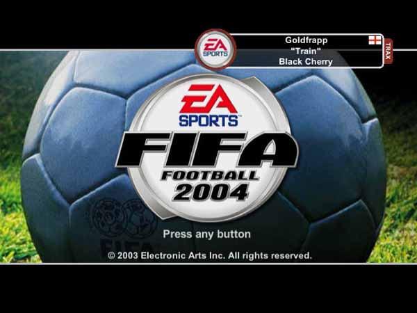 FIFA世界足球2004截图1