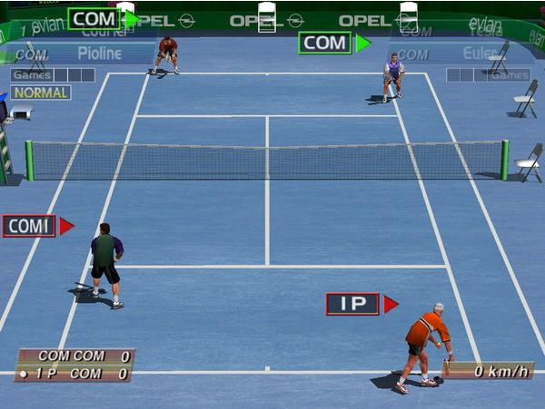 3D网球精英赛截图1