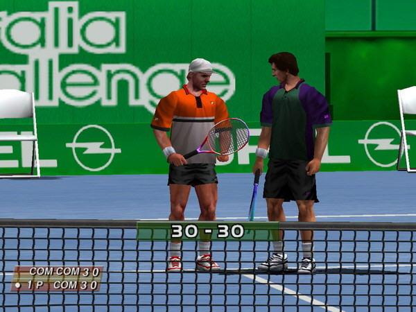 3D网球精英赛截图2