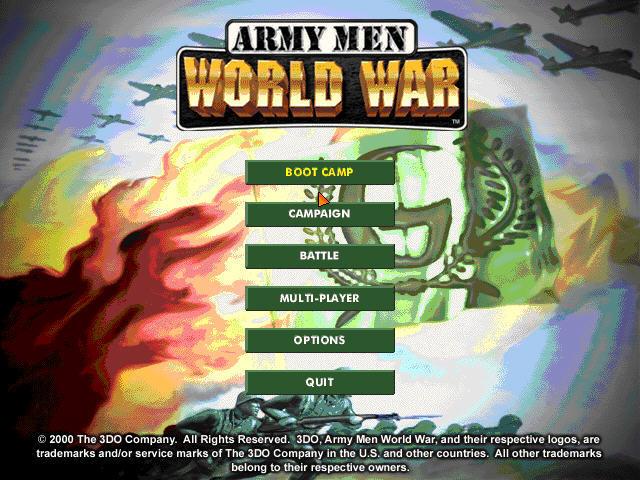 玩具军人5:世界大战截图0